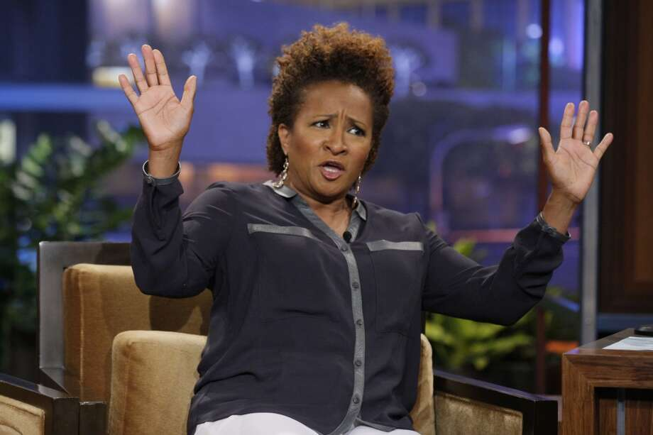 Comedian Wanda Sykes during an interview on The Tonight Show with Jay Leno on June 28, 2013. Sykes will kick off three months of comedy at the Palace Theatre in Stamford, Conn., with a performance on Sept. 20. (Photo/Stacie McChesney/NBC/NBCU Photo Bank via Getty Images)