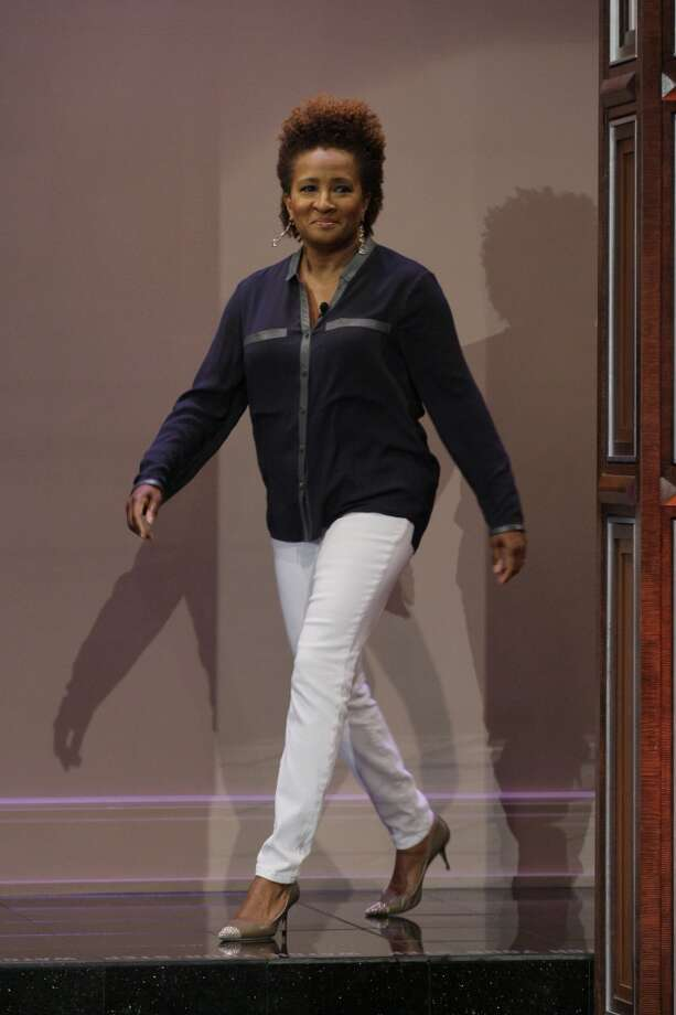 Comedian Wanda Sykes arrives on June 28, 2013, for a show with Jay Leno. (Photo/ Stacie McChesney/NBC/NBCU Photo Bank via Getty Images)