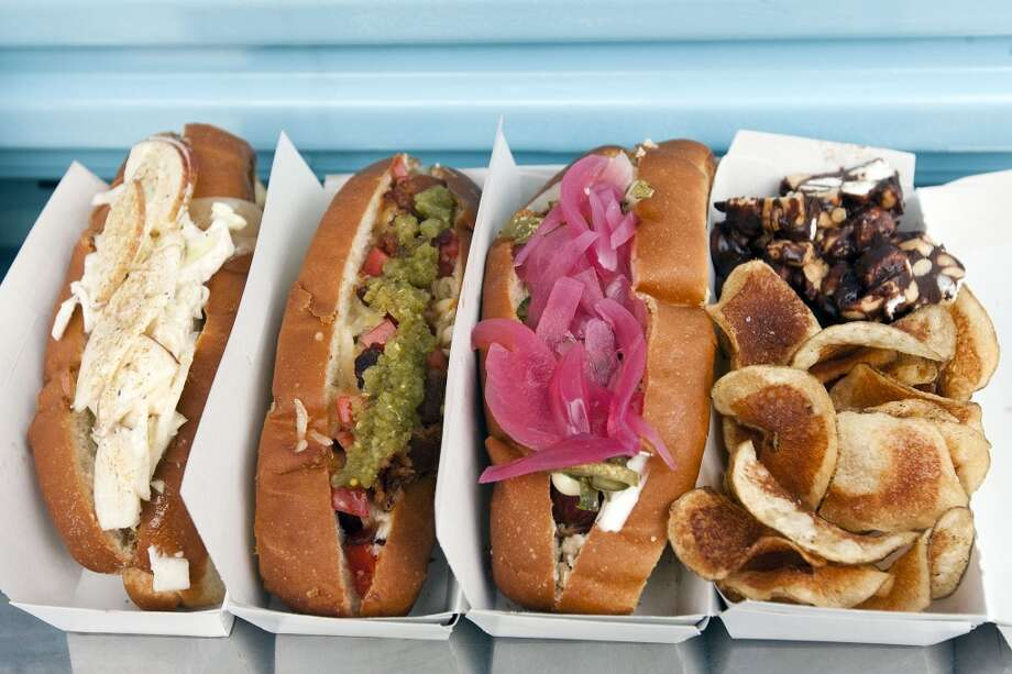 Good Dog Hot DogsCuisine: AmericanAddress: 903 StudewoodPhone: (832) 800-3647Website: gooddogfoodtruck.com Photo: Patrick T Fallon, Houston Chronicle