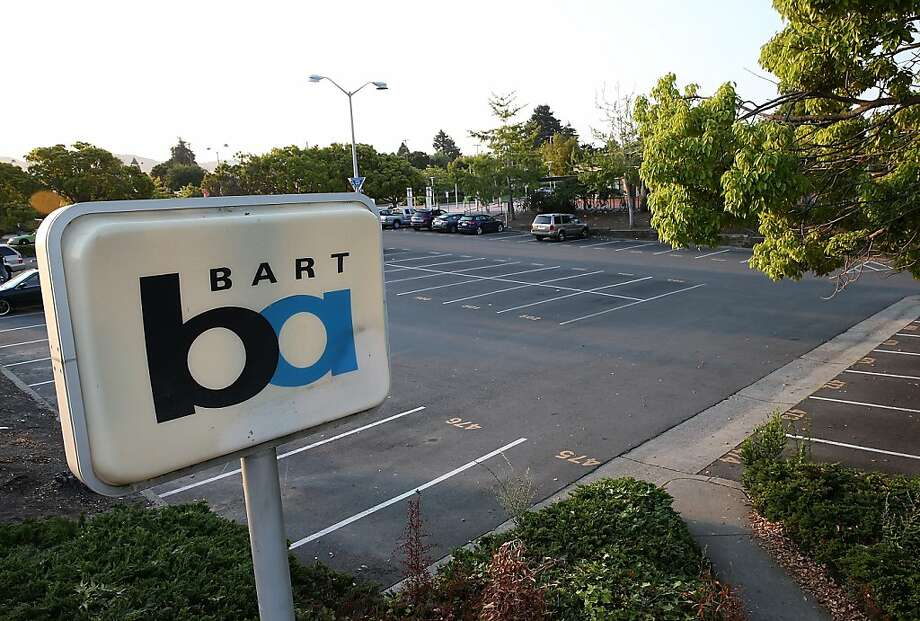 FILE-- A parking lot sits empty at the North Berkeley Bay Area Rapid Transit (BART) station July 1, 2013 in Berkeley. A man was jailed on suspicion of battering a BART passenger at the North Berkeley station Saturday afternoon, police said. Photo: Justin Sullivan, Getty Images