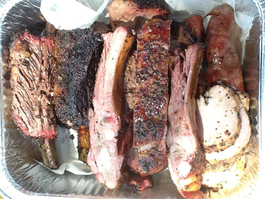 An assortment of smoked meat from Ronnie Killen's outdoor pop-up barbecue restaurant in Pearland. Photo: Greg Morago
