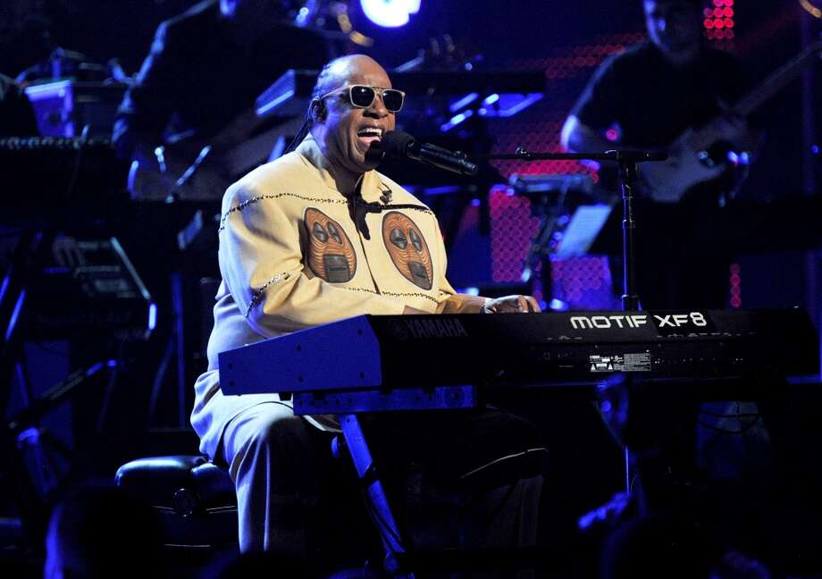 LOS ANGELES, CA - JUNE 30:  Musician Stevie Wonder performs onstage during the 2013 BET Awards at Nokia Theatre L.A. Live on June 30, 2013 in Los Angeles, California.  (Photo by Kevin Mazur/Getty Images for BET)