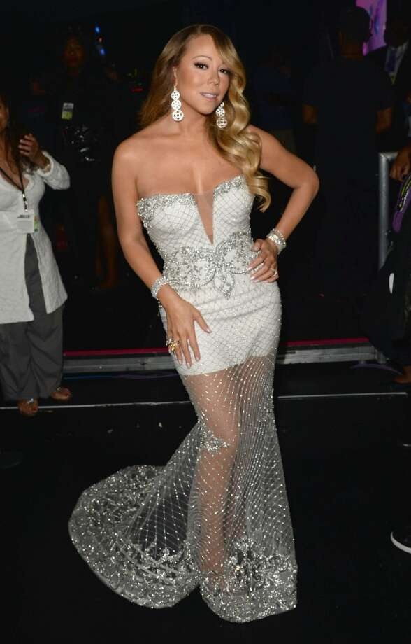 LOS ANGELES, CA - JUNE 30:  Singer Mariah Carey poses backstage during the 2013 BET Awards at Nokia Theatre L.A. Live on June 30, 2013 in Los Angeles, California.  (Photo by Jason Merritt/BET/Getty Images for BET)