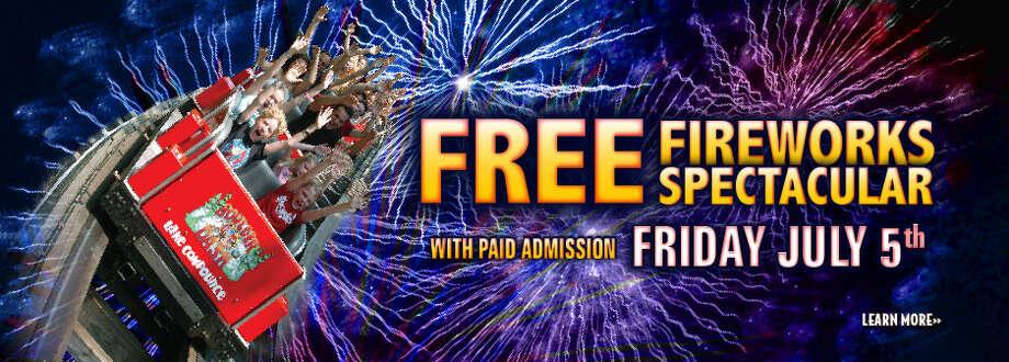 BRISTOL --  Friday, July 5 at 10 p.m. Lake Compounce, 186 Enterprise Drive. www.lakecompounce.com.
