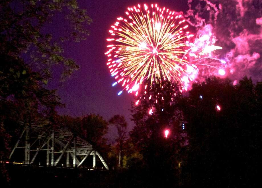 NEW MILFORD -- Thursday and Friday, July 4 and 5, 6-11 p.m. Saturday, July 6, 5-10 p.m. Ride tickets, $1 each, book of 28 for $25. Wristband for rides, $20, July 4 and 6 only. Chamber of Commerce fireworks display Fri, entertainment from 5 p.m., fireworks set off from the Fort Hill area at dusk. Bank Street will close at 5 p.m. Fort Hill Road, Peagler Hill and Town View Road will be closed to traffic during fireworks display. www.newmilford-chamber.com.