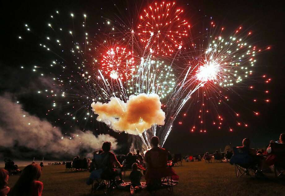 Some folks just can't wait for the Fourth of July:Every year, G.R. Gordon-Ross gets the jump 