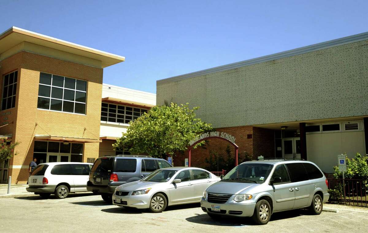 Highlands High School was placed on lockdown Friday afternoon, Feb. 3, 2017, after a burglary suspect was arrested on campus property.
