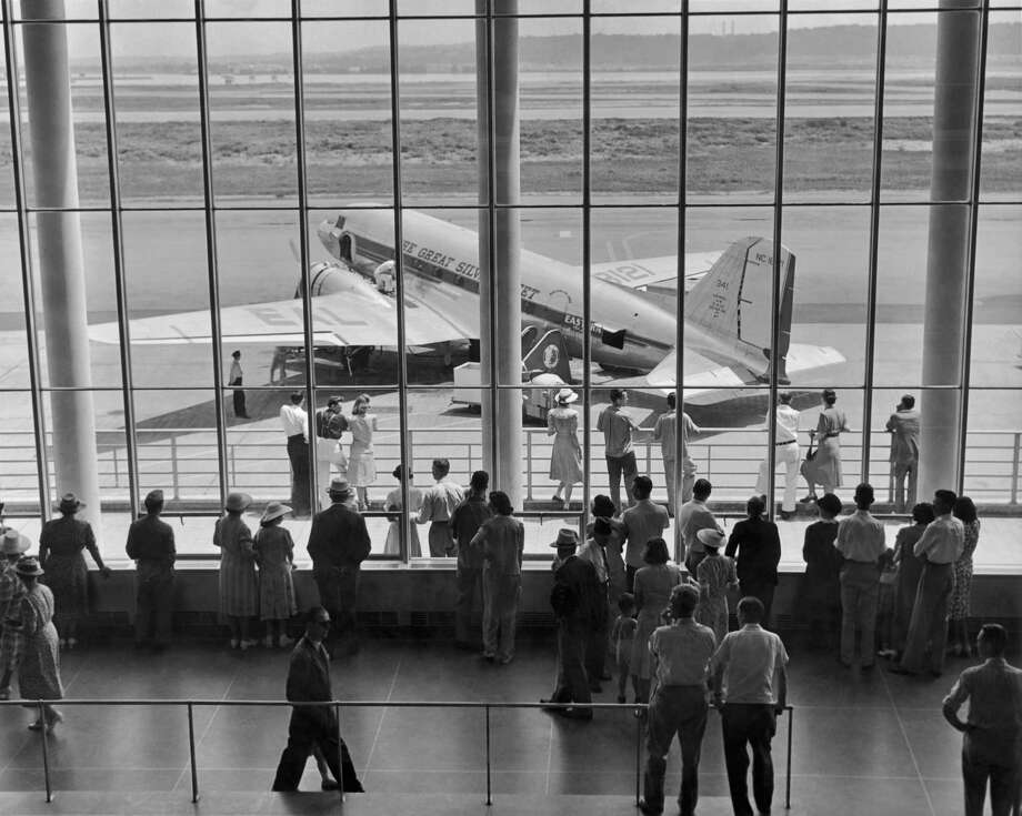 American and United were followed by 30 more airlines in the next two years. By 1939, more than 90 percent of the nation's airline passengers were flying on DC-2s and DC-3s.Here's an Eastern Airlines Douglas DC-3, circa 1945. Photo: Frederic Lewis, Getty Images / 2010 Getty Images