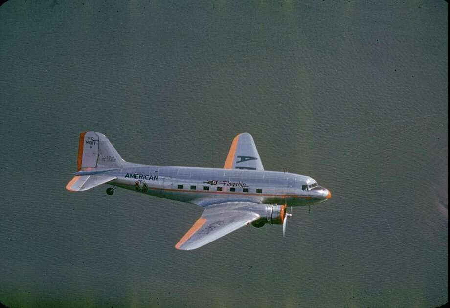 "In 1934, American Airlines President C.R. Smith demanded a longer DC-2 that would carry more passengers during the day and another version with railroad-type sleeping berths. This led to the DC-3, ""which made air travel popular and airline profits possible, is universally recognized as the greatest airplane of its time,"" according to a Boeing writeup. Photo: Charles Fenno Jacobs, Time & Life Pictures/Getty Image / Charles Fenno Jacobs"