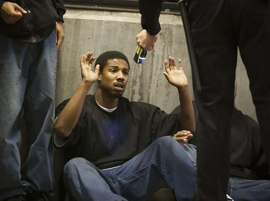 "Michael B. Jordan stars as Oscar Grant in ""Fruitvale Station."" Photo: Weinstein Co."