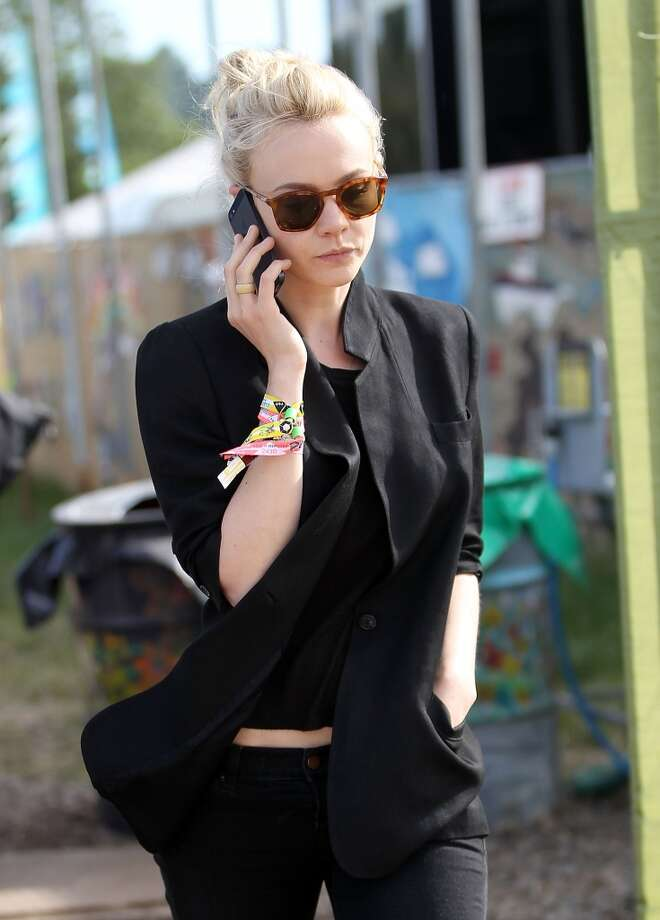 GLASTONBURY, ENGLAND - JUNE 30:  Carey Mulligan attends day 4 of the 2013 Glastonbury Festival at Worthy Farm on June 30, 2013 in Glastonbury, England.  (Photo by Danny Martindale/WireImage)