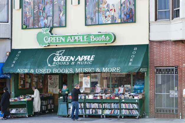 Hall of Fame  Green Apple Books: This bibliophile's delight tumbles out of its quarters daily in the form of its radically discounted sidewalk stacks. Within, no one can resist those staff reviews broadcasting the lovingly edited selection of new fiction and non- or the sizable collection of used volumes. Retreat from the Richmond fog in the magazine annex. 506 Clement St., S.F., (415) 387-2272. www.greenapplebooks.com. Photo: Thomas Winz, Lonely Planet Images Via Getty Images