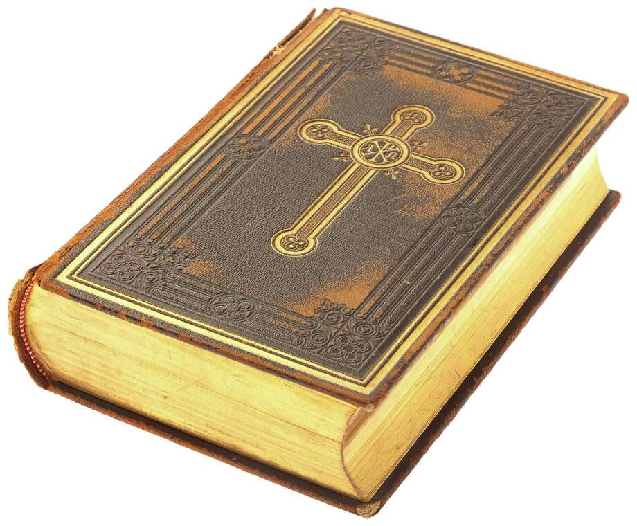 bible book on a white background / Aaron Amat - Fotolia