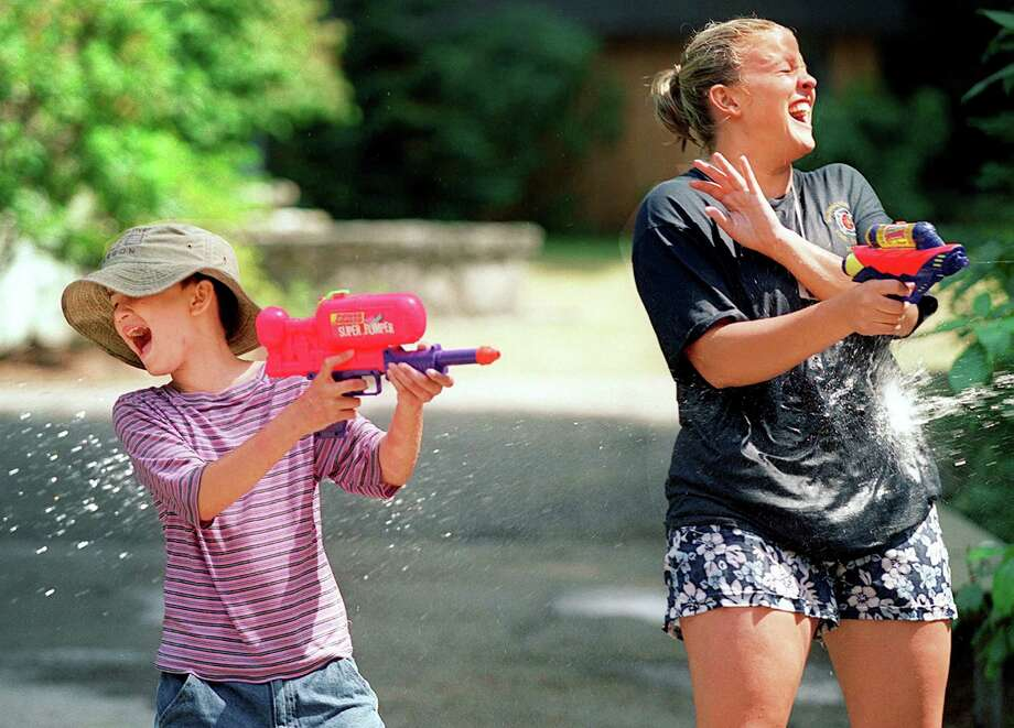 If floating around it's active enough, bust out the SuperSoakers, take to the front yard and rally a squad for a water fight. Photo: MERYL SCHENKER / SEATTLEPI.COM