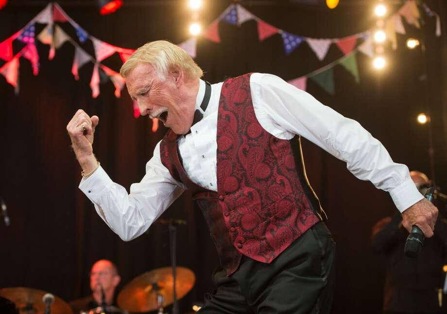 GLASTONBURY, UNITED KINGDOM - JUNE 30:  Sir Bruce Forsyth performs on the Avalon Stage at the Glastonbury Festival of Contemporary Performing Arts at Worthy Farm, Pilton on June 30, 2013 in Glastonbury, England. (Photo by Samir Hussein/Redferns via Getty Images)