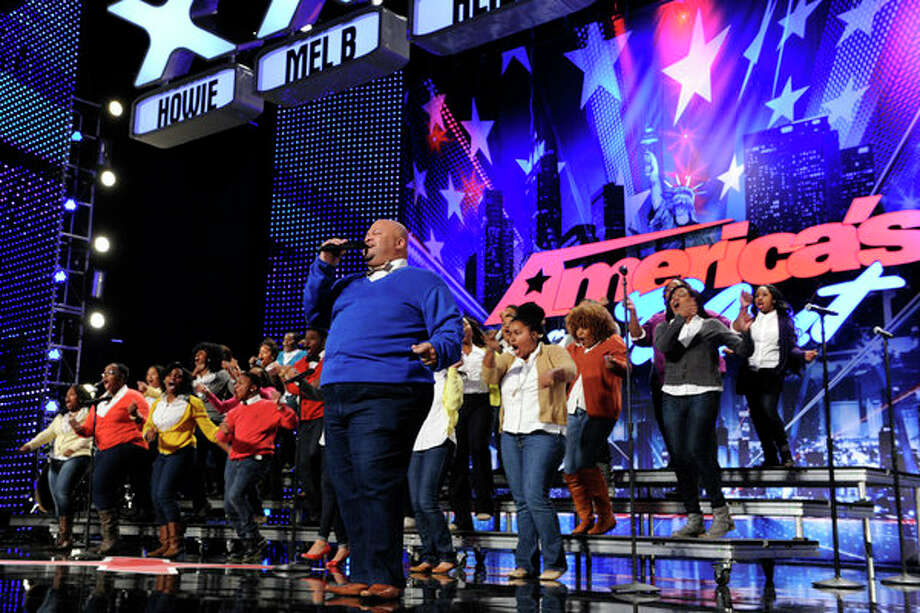 AMERICA'S GOT TALENT -- Episode 804 -- Pictured: Virginia State University Gospel Chorale -- Photo: NBC, Virginia Sherwood/NBC / 2013 NBCUniversal Media, LLC.