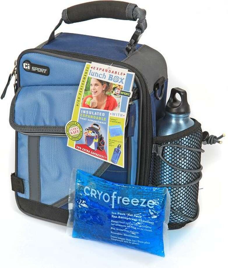 "Expandable Insulated Lunch Box with Freezer Gel Pack – ""Gel that contains diethylene glycol and ethylene glycol can leak out of damaged freezer gel packs, posing a poisoning hazard if ingested by children or adults.,"" the Consumer Product Safety Commission reports. Photo: Consumer Product Safety Commission Photos"