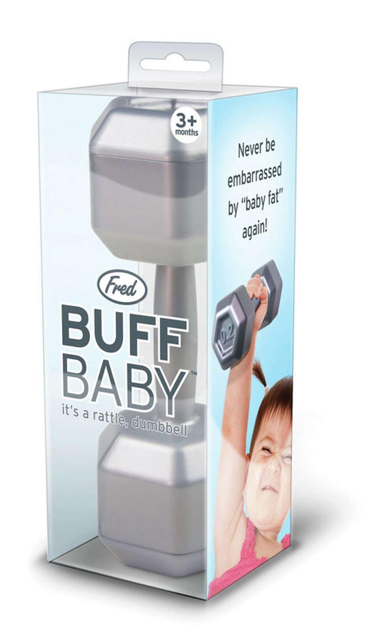 Buff Baby rattles -