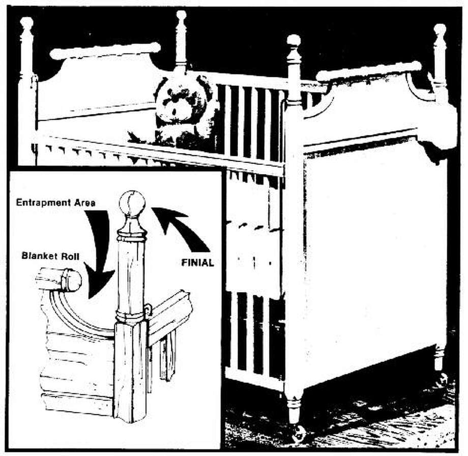 Bassett Co. cribs – These cribs were hurting and killing children for years after a recall effort was launched in 1978. Photo: Consumer Product Safety Commission Photos