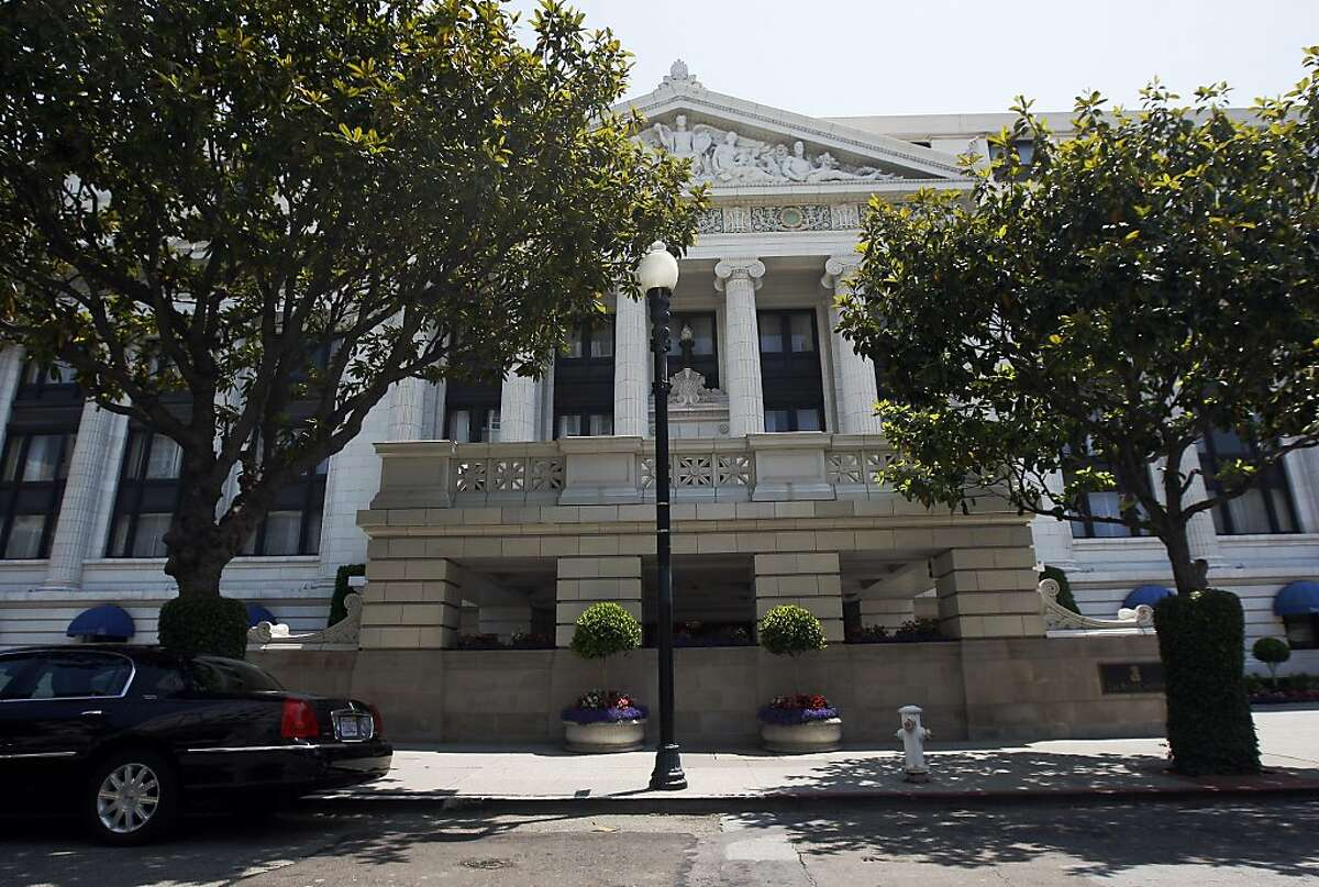 The Ritz Carlton hotel at 600 Stockton Street on Monday, July 01, 2013 in San Francisco, Calif.