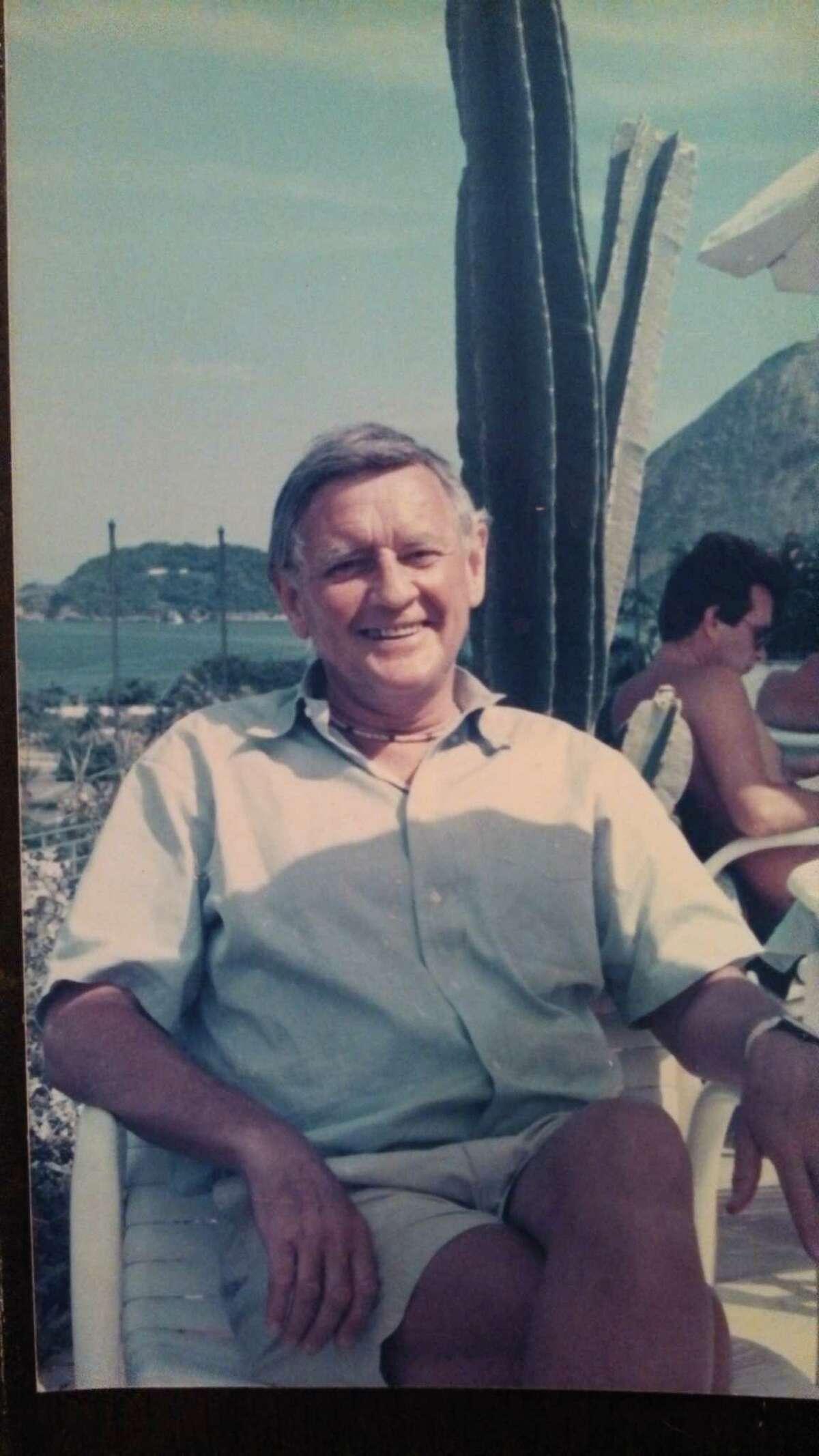 James D. Schmitt is shown in 1990 in Rio de Janeiro, Brazil. (Provided photo)
