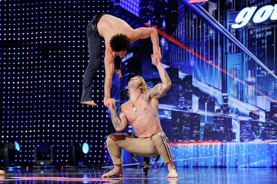 AMERICA'S GOT TALENT -- Episode 804 -- Pictured: KriStef Bros -- Photo: NBC, Virginia Sherwood/NBC / 2013 NBCUniversal Media, LLC.
