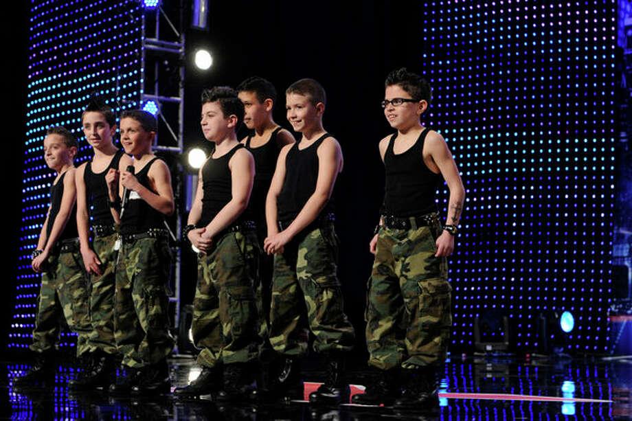 AMERICA'S GOT TALENT -- Episode 804 -- Pictured: Struck Boyz -- Photo: NBC, Virginia Sherwood/NBC / 2013 NBCUniversal Media, LLC.