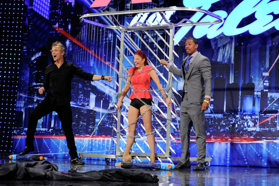 AMERICA'S GOT TALENT -- Episode 804 -- Pictured: Leon Etienne -- Photo: NBC, Virginia Sherwood/NBC / 2013 NBCUniversal Media, LLC.