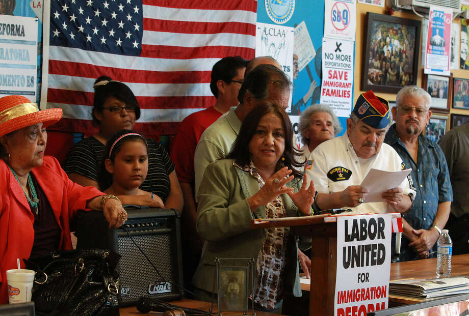"Velma Ybarra of Hispanics Organized for Political Hope fears what the Supreme Court ruling means for redistricting maps: ""It will have a major negative effect."" Photo: Photos By John Davenport / San Antonio Express-News"