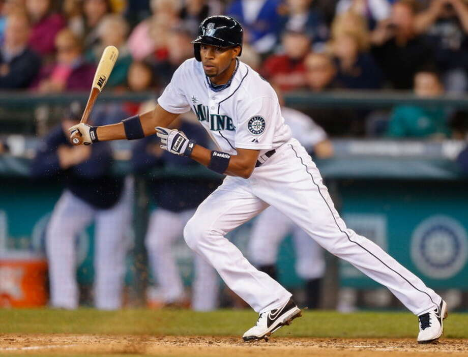 Endy Chavez | Grade: B+ outfielder  In his second stint with the Mariners, Chavez's contributions this season have been quiet but not unnoticed. In his 12th year in the bigs, he has stepped up and given the Mariners some pop at the plate and has filled in nicely as Seattle suffered injuries. Can't complain much.  Average: .272 | On-base: .288 | Slugging: .347 | At-bats: 202 | Games: 58 Hits: 55 | RBI: 11 | Strikeouts: 26 | Doubles: 9 | Triples: 0 | Home runs: 2  Photo: Otto Greule Jr, Getty Images / 2013 Otto Greule Jr
