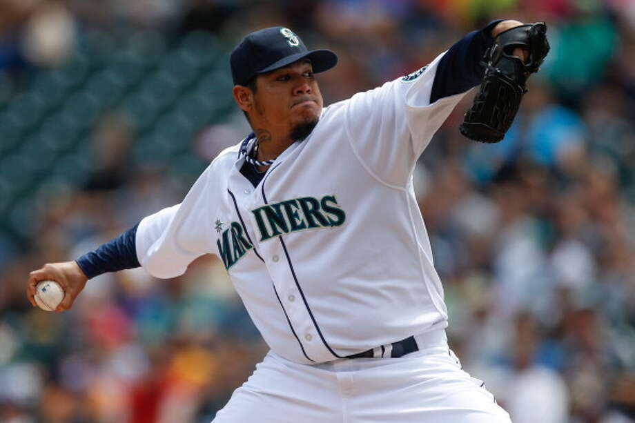 Felix Hernandez | Grade: A-right-handed pitcherHe is still the King -- one of the best pitchers in all of baseball. But he is still the King -- meaning, he sometimes struggles. Hernandez has had a few atypical outings recently, but he'll surely bounce back -- like he always does.  ERA: 2.70 | Record: 8-4 | Games: 17 | Innings: 116.2 Hits: 106 | Strikeouts: 123 | Walks: 22 | Earned runs: 35  Photo: Otto Greule Jr, Getty Images / 2013 Getty Images