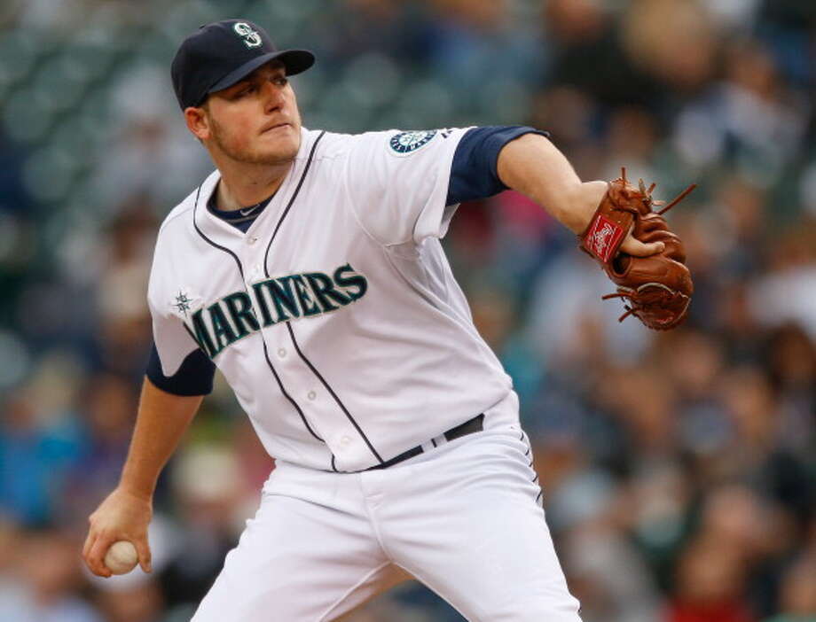 Brandon Maurer | Grade: C-right-handed pitcherMaurer may well deserve an ''incomplete,'' but he did start 10 games at the beginning of the year. The Mariners, after his impressive spring training, leap-frogged Maurer from Double-A to the majors -- and it ended up being, indeed, too early a promotion. Maurer showed promising stuff, but still needs time to hone his control.  ERA: 6.93 | Record: 2-7 | Games: 10 | Innings: 49.1 Hits: 66 | Strikeouts: 32 | Walks: 17 | Earned runs: 38  Photo: Otto Greule Jr, Getty Images / 2013 Otto Greule Jr