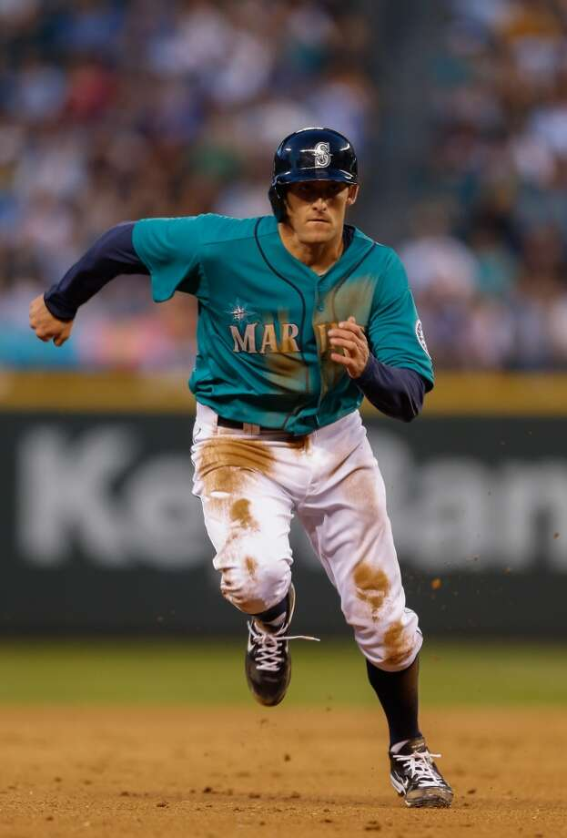 Brad Miller | Grade: incompleteshortstop The kids just keep coming, and it looks like they're here to stay. Brad Miller was the latest call-up by the Mariners as they look to spark a lethargic offense with young prospects. Miller's offensive numbers in the minors offer plenty of excitement, but it remains to be seen if he can deliver on the big stage.  Average: .182 | On-base: .308 | Slugging: .364 | At-bats: 11 | Games: 3 Hits: 2 | RBI: 1 | Strikeouts: 3 | Doubles: 2 | Triples: 0 | Home runs: 0