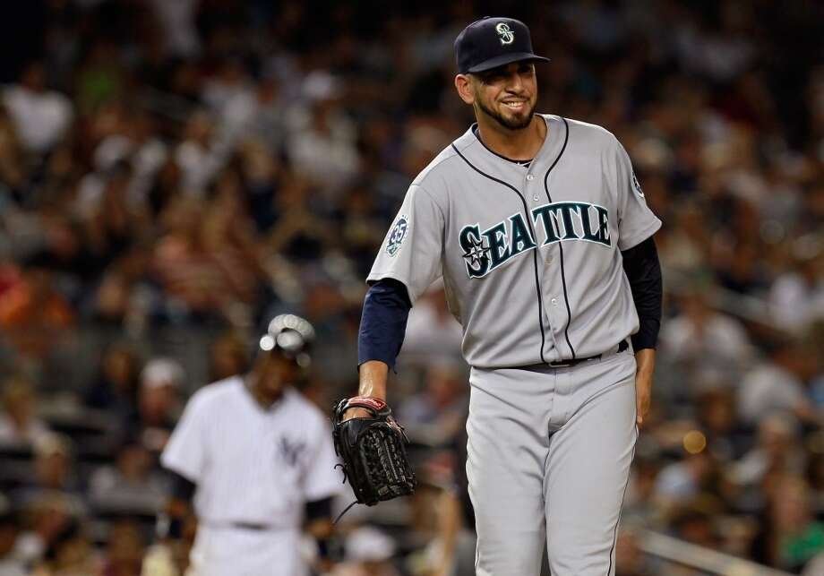 Oliver Perez | Grade: A-left-handed pitcherIt's been a renaissance year for Oliver Perez. With a 1.54 ERA, Perez finds himself among the best relief pitchers in baseball at the halfway point. The only question moving forward is whether the Mariners will trade the veteran lefty at the trade deadline.  ERA: 1.52 | Record: 2-2 | Games: 32 | Innings: 29.2 Hits: 24 | Strikeouts: 43 | Walks: 14 | Earned runs: 5