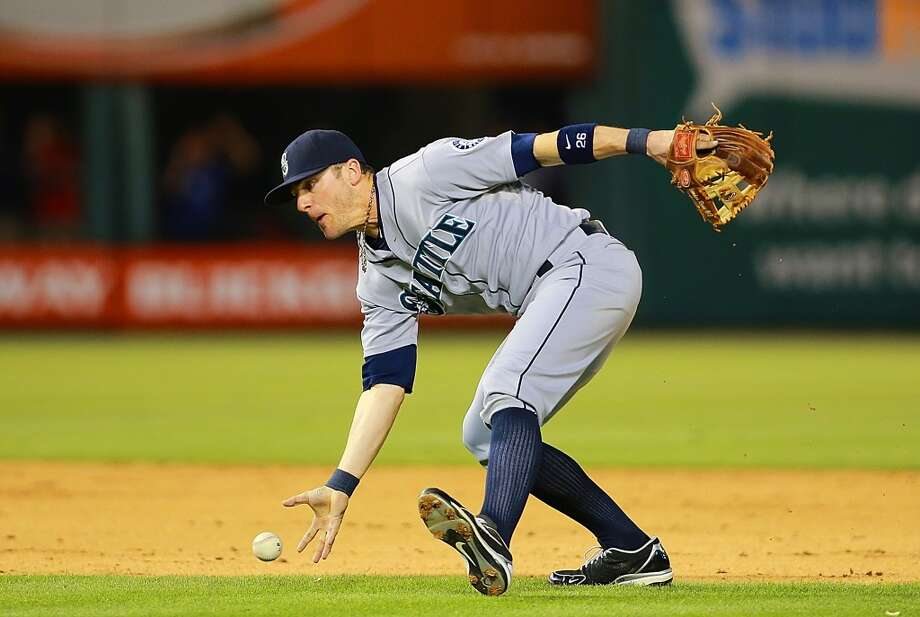 Brendan Ryan | Grade: C- shortstop  Brendan Ryan can play defense really, really well. But defense isn't enough to make up for a .199 batting average. With Brad Miller now up, look for the Mariners to trade the veteran shortstop at the deadline.   Average: .199 | On-base: .352 | Slugging: .378 | At-bats: 188 | Games: 56 Hits: 46 | RBI: 13 | Strikeouts: 49 | Doubles: 7 | Triples: 0 | Home runs: 2