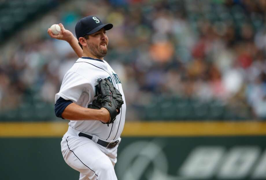 Joe Saunders | Grade: C-  left-handed pitcher  ''Safeco Joe'' has lived up to his nickname this season as a home-field pitcher. At Safeco Field this season, Saunders has a respectable 3.56 ERA -- but away from home, that ERA has ballooned to 6.46. The inconsistency is why Saunders gets a ''C-.''   ERA: 4.98 | Record: 5-8 | Games: 16 | Innings: 94 Hits: 106 | Strikeouts: 49 | Walks: 30 | Earned runs: 52