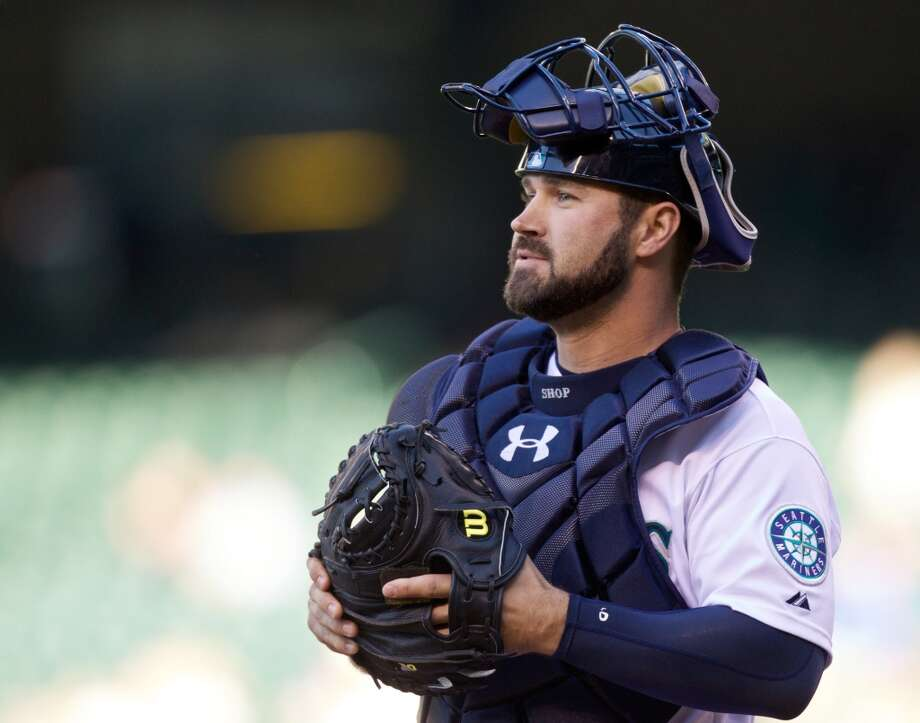 Kelly Shoppach | Grade: D+ catcher  Shoppach was the Mariners' primary catching option for much of the first half and deserves kudos for his hard work, but he was a casualty of the team's midseason youth movement. Shoppach played decently behind the plate, but his bat never came around. The M's released him late last month.  Average: .196 | On-base: .293 | Slugging: .346 | At-bats: 107 | Games: 35 Hits: 21 | RBI: 9 | Strikeouts: 45 | Doubles: 7 | Triples: 0 | Home runs: 3
