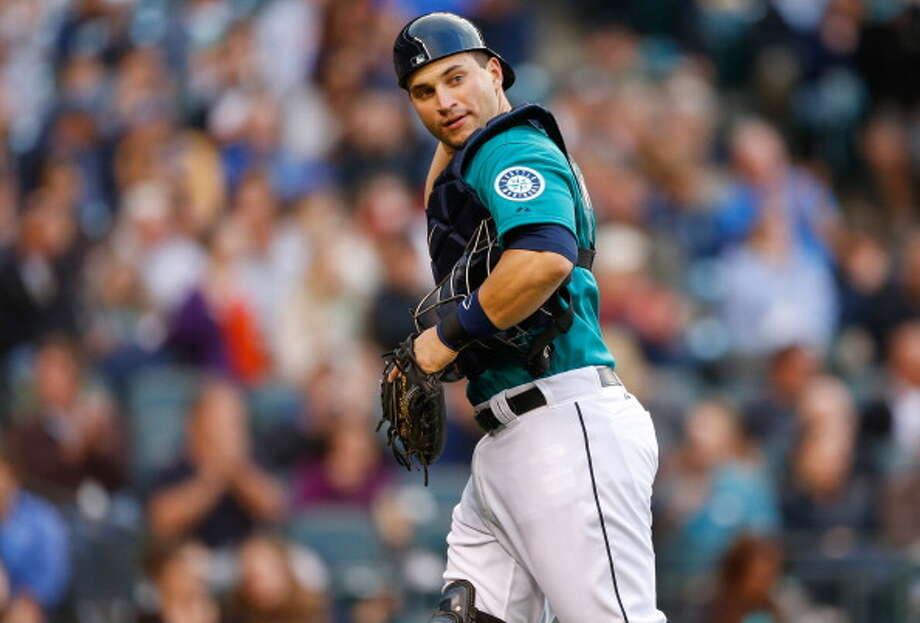 Mike Zunino | Grade: incomplete catcher  He got called up in June just a year after the M's drafted him third-overall in 2012, and many fans thought his promotion was too early. But the Mariners needed a catcher after Jesus Montero got sent down and his replacement, Jesus Sucre, got injured. Zunino has been holding his own in the bigs, but hasn't shown us enough to get a grade.  Average: .227 | On-base: .261 | Slugging: .341 | At-bats: 44 | Games: 13 Hits: 10 | RBI: 2 | Strikeouts: 11 | Doubles: 2 | Triples: 0 | Home runs: 1  Photo: Otto Greule Jr, Getty Images / 2013 Otto Greule Jr