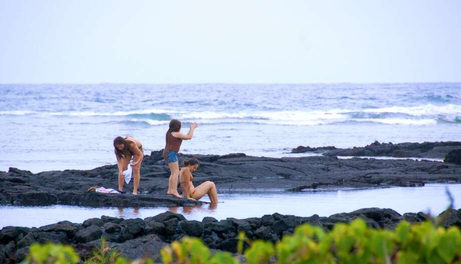 Not exactly a beach, but still popular with snorkelers and other visitors, the  area called Kapoho Tidepools (officially Waiʻopae) is one of 15 shoreline areas on  Hawaiʻi Island tested at least monthly with a perfect record.