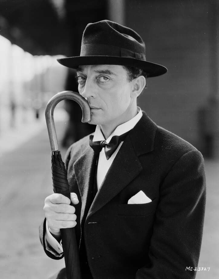 16th May 1932:  American silent screen comedian and actor Buster Keaton (1895-1966) dressed as a man about town.  (Photo by John Kobal Foundation/Getty Images)