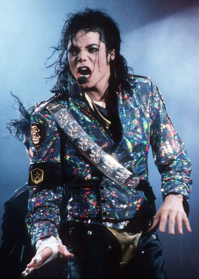 ROTTERDAM, HOLLAND - JUNE 30: Michael Jackson performs live at the Feijenoord Stadium, Rotterdam, Holland on June 30 1992 during his Dangerous tour (Photo by Rob Verhorst/Redferns)