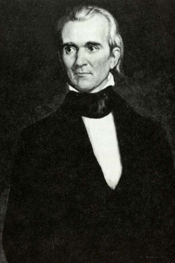 President James K, Polk (1795-1849) became America's 11th President serving from 1845-1849  (Photo by Popperfoto/Getty Images)