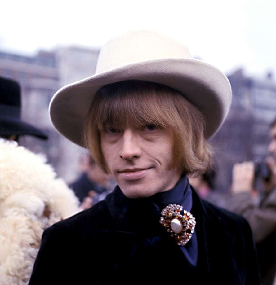Brian Jones (of 'The Rolling Stones') in January 1967.  If you read Keith Richards' biography, meeting Jones doesn't sound like it would be much fun.  (Photo by Monitor Picture Library/Photoshot/Getty Images)