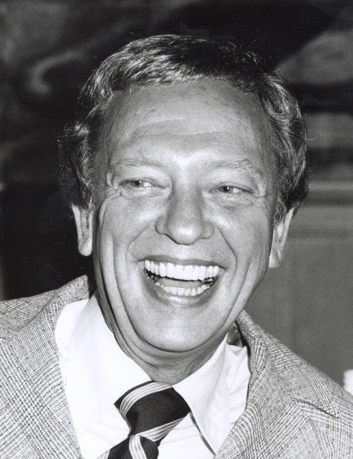 "Don Knotts during Press Preview and Luncheon For ""Three's Company"" and ""The Ropers"" at Beverly Hilton Hotel in Beverly Hills, California, United States. (Photo by Ron Galella/WireImage)"