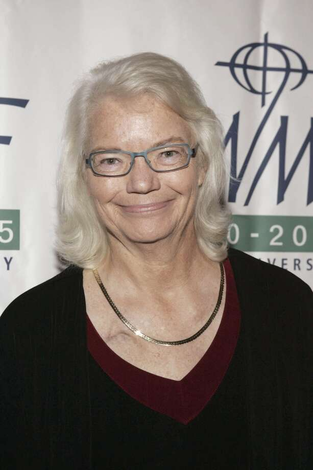 Syndicated columnist Molly Ivins attends The International Women's Media Foundation's 2005 Courage In Journalism Awards on November 2, 2005 in Beverly Hills, California. Ivins died of breast cancer at the age of 62 on January 31, 2007. (Photo by Vince Bucci/Getty Images)