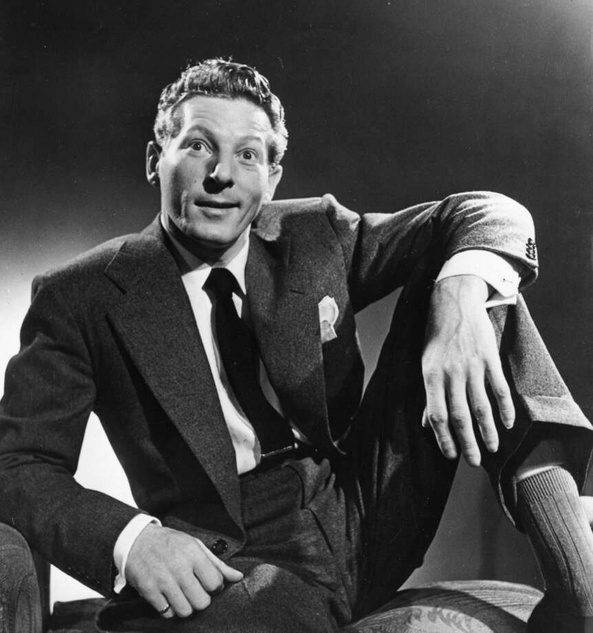 circa 1947:  Danny Kaye (1913 - 1987), the American film and stage singer and actor.  Known for his slapstick antics and tongue-twisting songs.  (Photo by Baron/Getty Images)