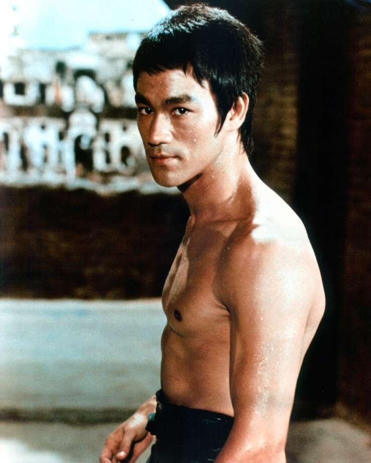Bruce Lee publicity portrait, 1972. (Photo by Getty Images)