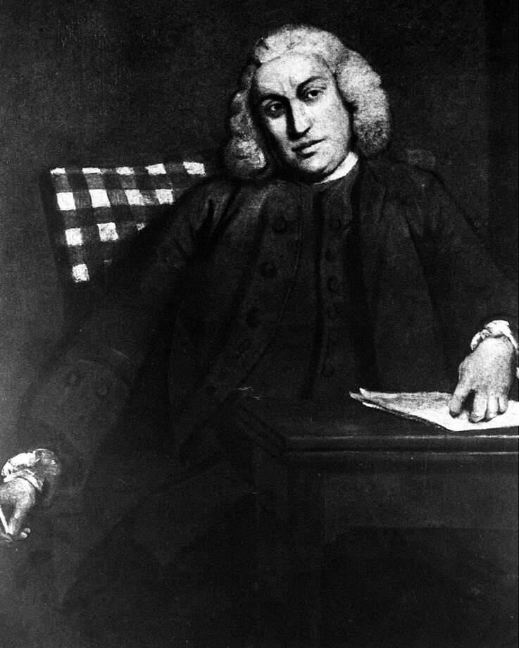 A picture of Dr Samuel Johnson (1709-1784), the English author, critic, lexicographer and writer  (Photo by Popperfoto/Getty Images)