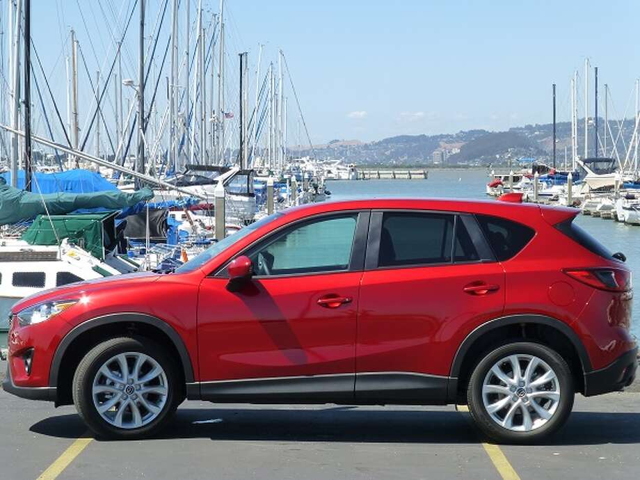 The new CX-5 is a compact five-door hatchback and is one of several in  popular category. After a while, they all start to look alike.  (All photos by Michael Taylor)