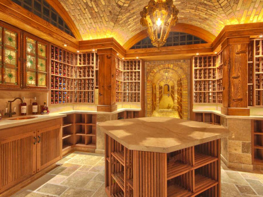 Wine cellar. Kind of empty! Photos via Trulia/MLS/Sotheby's